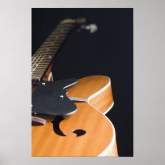 アコースティックギター ポスター