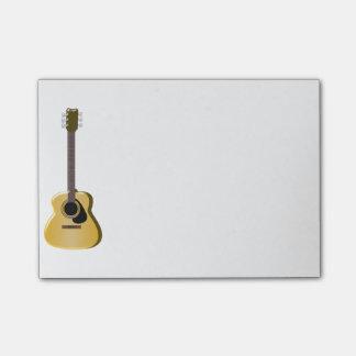 アコースティックギター ポストイット