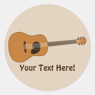 アコースティックギター ラウンドシール