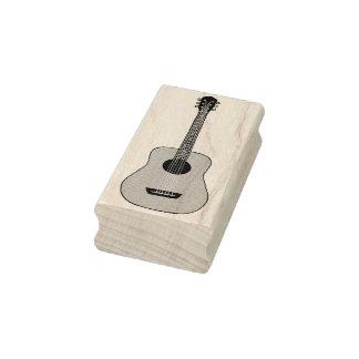 アコースティックギター ラバースタンプ