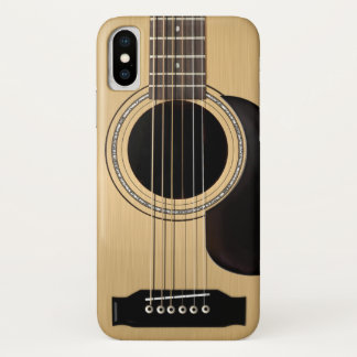 アコースティックギター iPhone X ケース