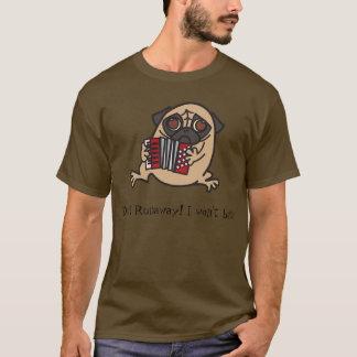 アコーディオンのパグ Tシャツ