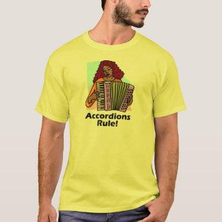 アコーディオンの規則! Tシャツ