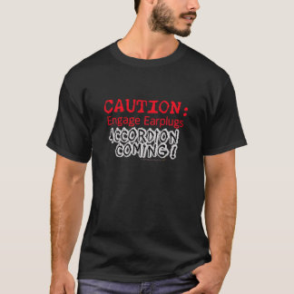 アコーディオンの   アコーディオンの嫌悪症のワイシャツ Tシャツ