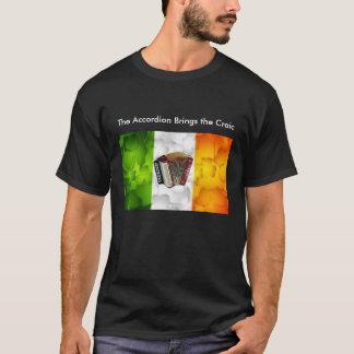 アコーディオンはCraicを持って来ます Tシャツ
