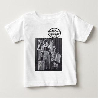 アコーディオンアマゾンの私の軍隊 ベビーTシャツ