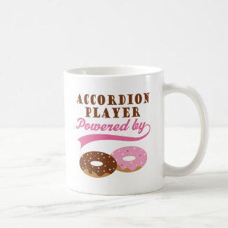 アコーディオンプレーヤーのおもしろいなギフト コーヒーマグカップ
