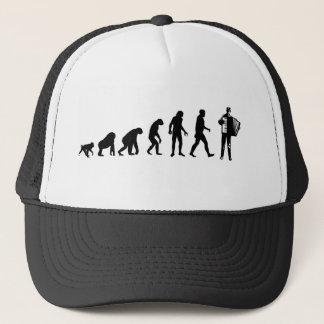 アコーディオンプレーヤーの帽子 キャップ
