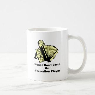アコーディオンプレーヤーを撃たないで下さい コーヒーマグカップ