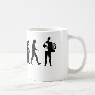 アコーディオンプレーヤー コーヒーマグカップ