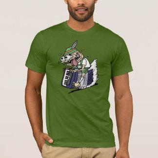 アコーディオンモンスター-圧縮はすべてです! Tシャツ