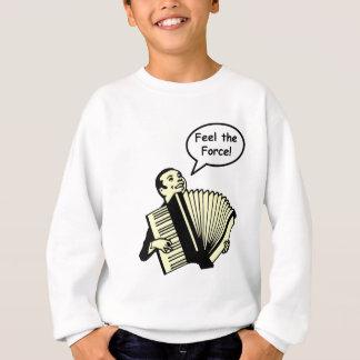 アコーディオン力を感じて下さい スウェットシャツ