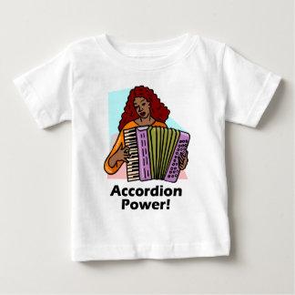 アコーディオン力! ベビーTシャツ