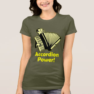 アコーディオン力! Tシャツ