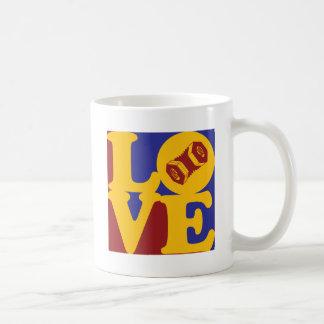 アコーディオン式愛 コーヒーマグカップ