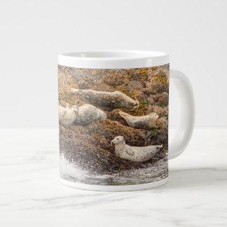 アザラシのジャンボマグ(20のoz。) ジャンボコーヒーマグカップ