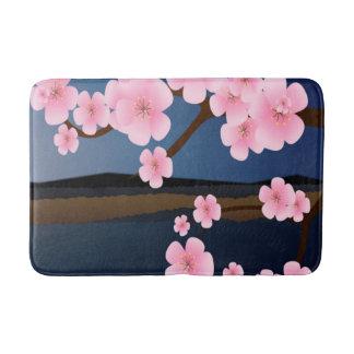 アジアのさくらんぼの開花 バスマット