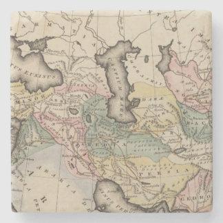 アジアの地図書の地図 ストーンコースター