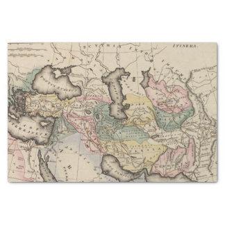 アジアの地図書の地図 薄葉紙