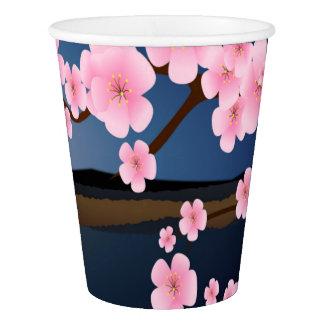 アジアの桜 紙コップ