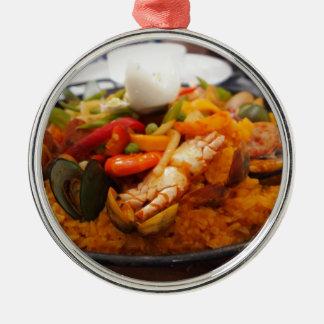 アジアの食糧 メタルオーナメント