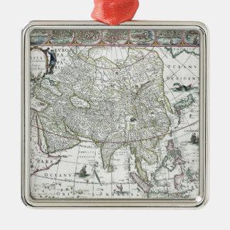 アジアのnoviterのdelineata 1617年 メタルオーナメント