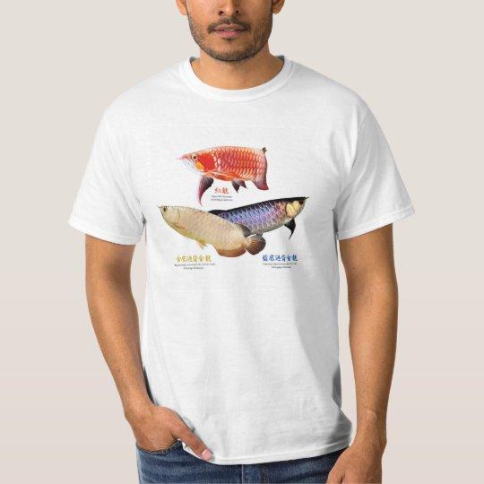 アジアアロワナのTシャツ Tシャツ