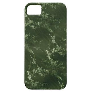 アジアオリーブ色の絹のiPhone 5の場合 iPhone SE/5/5s ケース