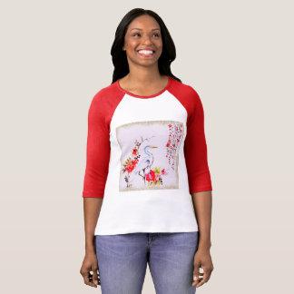 アジアクレーン絵画 Tシャツ