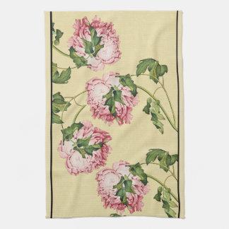 アジアシャクヤクによっては花の台所タオルが開花します キッチンタオル