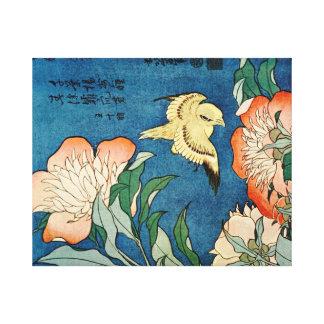 アジアシャクヤクのキャンバスのプリント キャンバスプリント