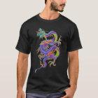 アジアドラゴンの入れ墨のワイシャツ Tシャツ