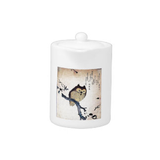 アジアフクロウのティーポット
