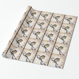 アジアフクロウ ラッピングペーパー