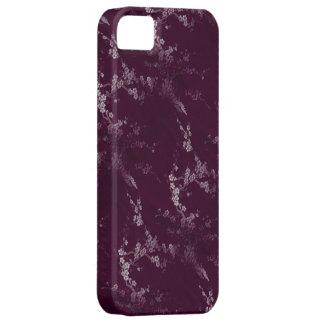 アジアプラム絹のiPhone 5の場合 iPhone SE/5/5s ケース