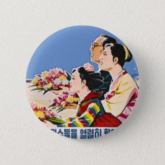 アジアポスター 5.7CM 丸型バッジ