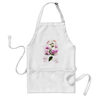 アジアユリの花の植物の花のエプロン スタンダードエプロン