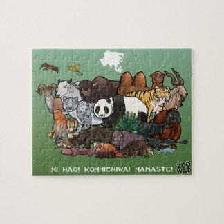 アジア動物-ジグソーパズル ジグソーパズル