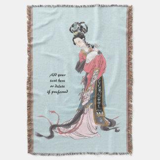 アジア女神の水 スローブランケット