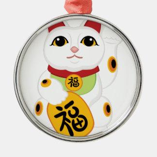 アジア子猫 メタルオーナメント