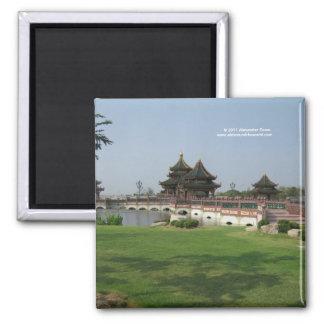 アジア建築の磁石 マグネット