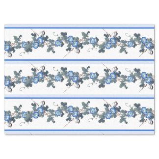 アジア朝顔の花の鳥のティッシュペーパー 薄葉紙