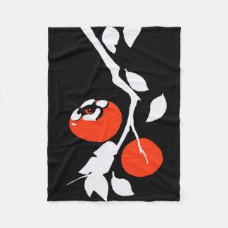 アジア柿 フリースブランケット