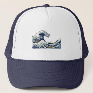 アジア波の芸術のプリントの絵画の木版画富士 キャップ