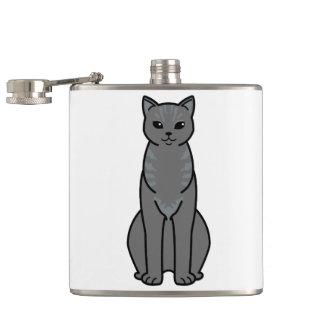 アジア煙猫の漫画 フラスク