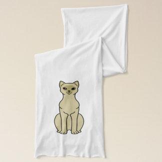 アジア猫の漫画 スカーフ
