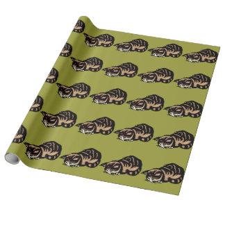 アジア猫 ラッピングペーパー