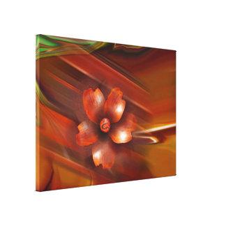 アジア花のキャンバスプリントのプリント キャンバスプリント