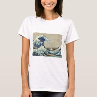 アジア芸術-神奈川を離れた素晴らしい波 Tシャツ