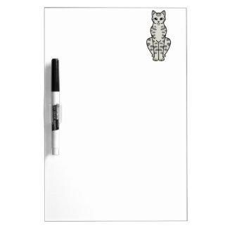 アジア虎猫猫の漫画 ホワイトボード